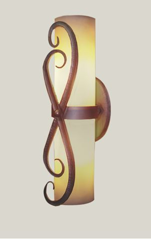 Swing Forged Iron Wall Sconce