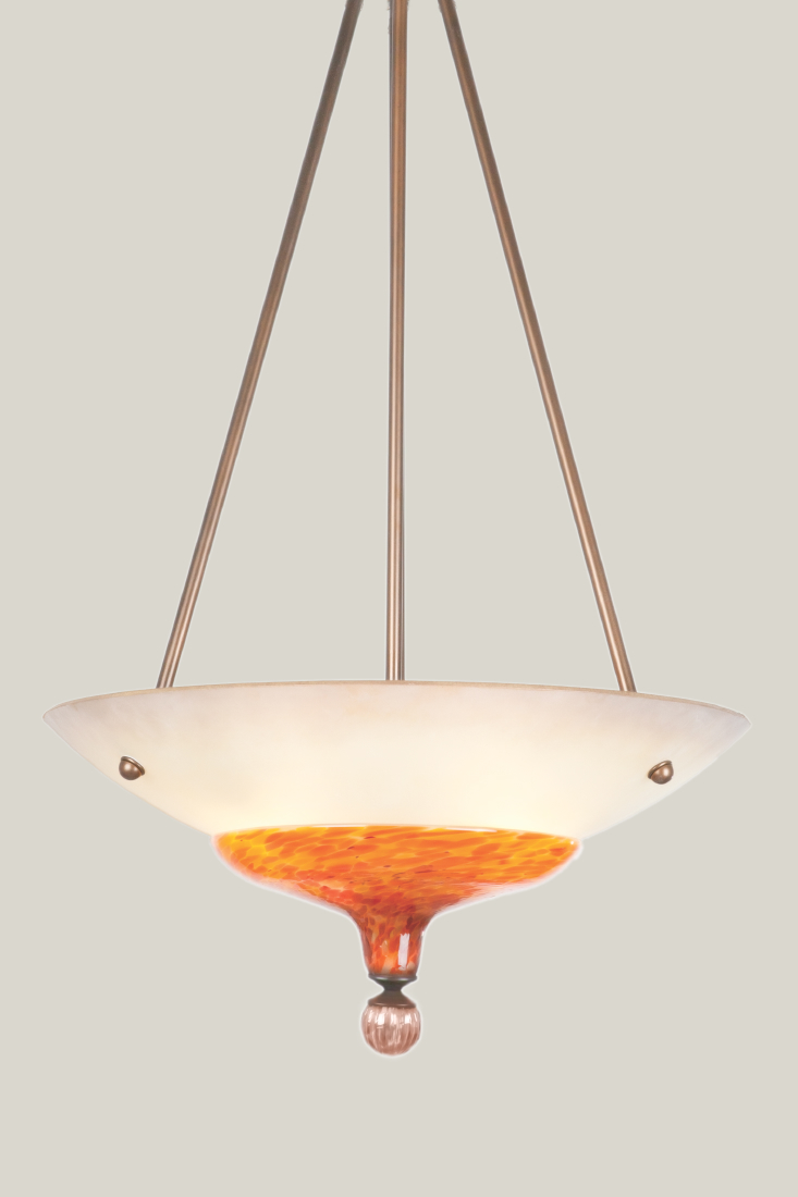 Picture of Blown Glass Chandelier | Alsace