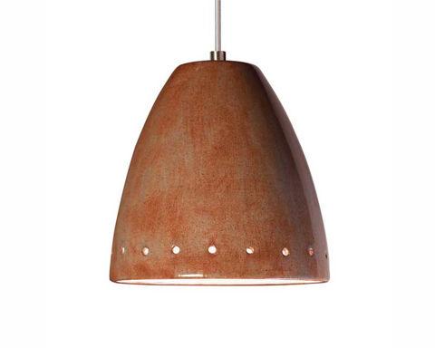 A19 Ceramic Pendant Light | Realm