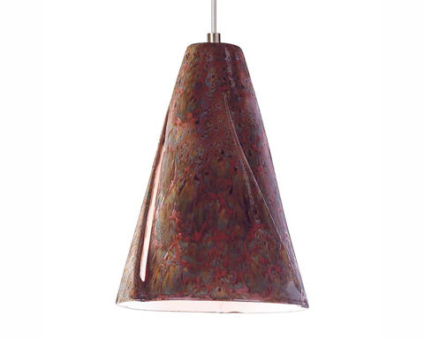 A19 Ceramic Pendant Light | Whirl