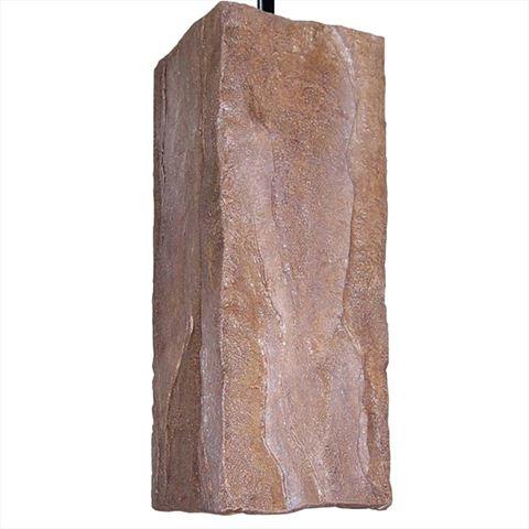 A19 Pendant Light   Stone