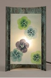 Picture of Unique Lamps | Blue Blossom