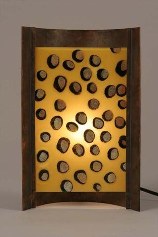 Unique Lamps | Amber Dots