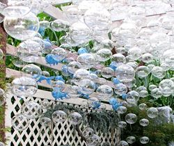 Ocean Motion Garden Art Blown Glass Arrangement