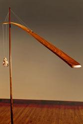 Unique Floor Lamp   Crane