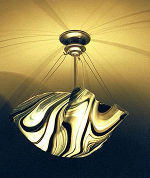 Picture of Black & White Ceiling Light