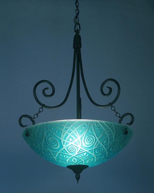 Picture of Pendant Light | Ocean Aqua
