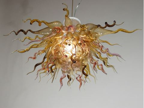 Blown Glass Chandelier 292