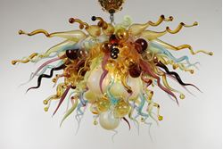 Blown Glass Chandelier 470