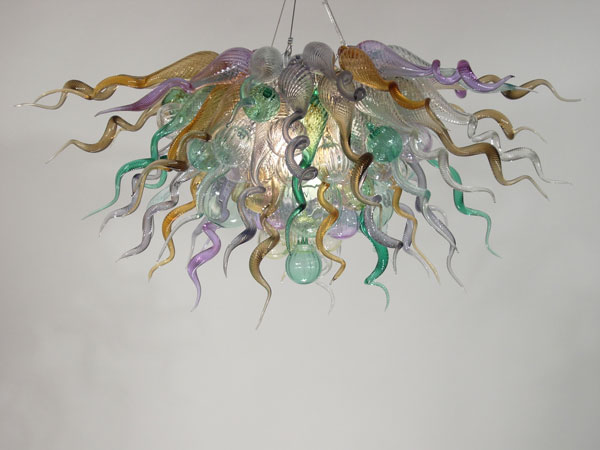 Picture of Blown Glass Chandelier 395