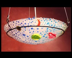 Blue Celestial Pendant Light