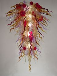 Picture of Blown Glass Chandelier 347