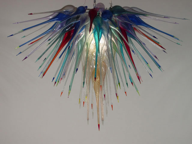 Picture of Blown Glass Chandelier 449