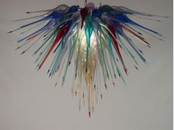 Blown Glass Chandelier 449