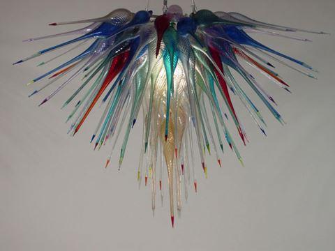 Blown Glass Chandelier 449