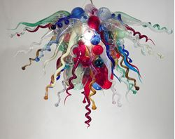 Picture of Blown Glass Chandelier 321