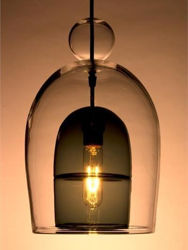 Pendant Light   Miro Veiled   Short Shade with Ball