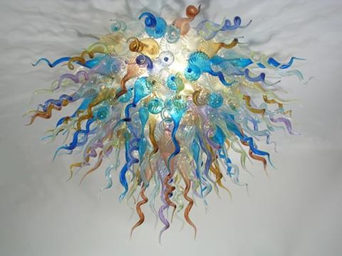Blown Glass Chandelier 265