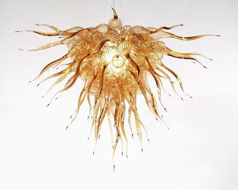Blown Glass Chandelier 225