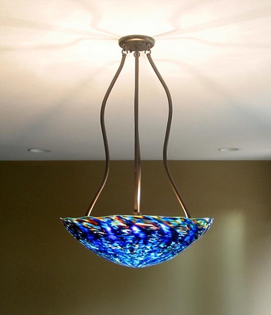 Picture of Blown Glass Chandelier - Tripod
