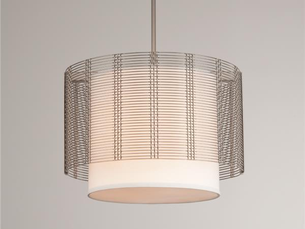 Picture of Drum Chandelier   Downtown Mesh IV