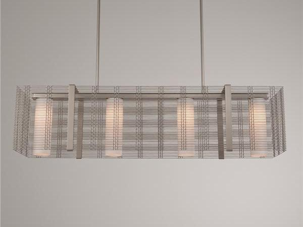 Picture of Linear Chandelier | Downtown Mesh