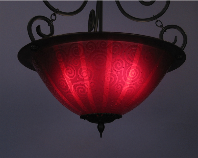 Picture of Pendant Light | Red Light District