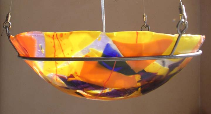 Picture of Scrap Glass Pendant II