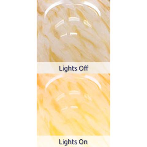 Blown Glass Pendant Light | Natural
