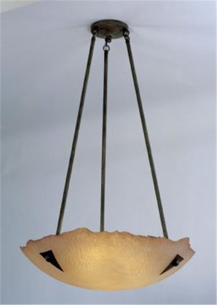 Picture of Roma Fused Glass Chandelier