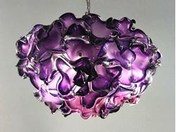 Pomegranate Blown Glass Chandelier