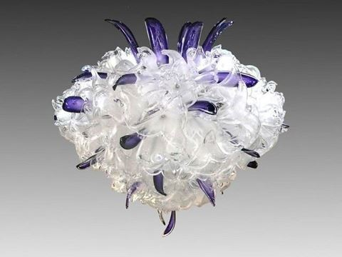 Royale Blown Glass Chandelier
