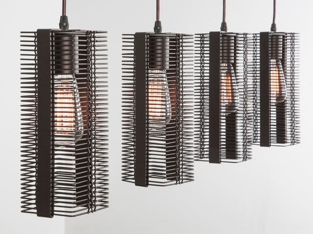 Picture of Linear Chandelier | Downtown Mesh 4