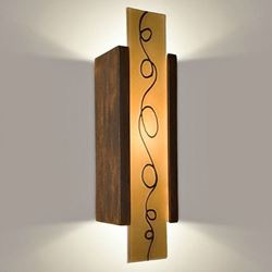 Picture of A19 Wall Sconce | Squiggle