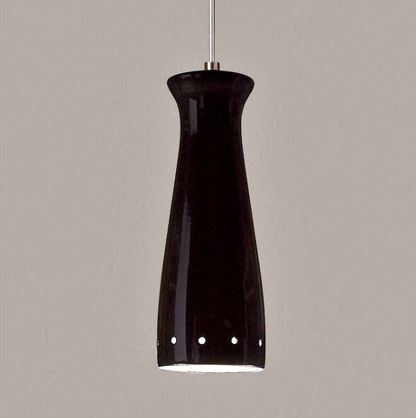 Picture of A19 Ceramic Pendant Light | Pilsner