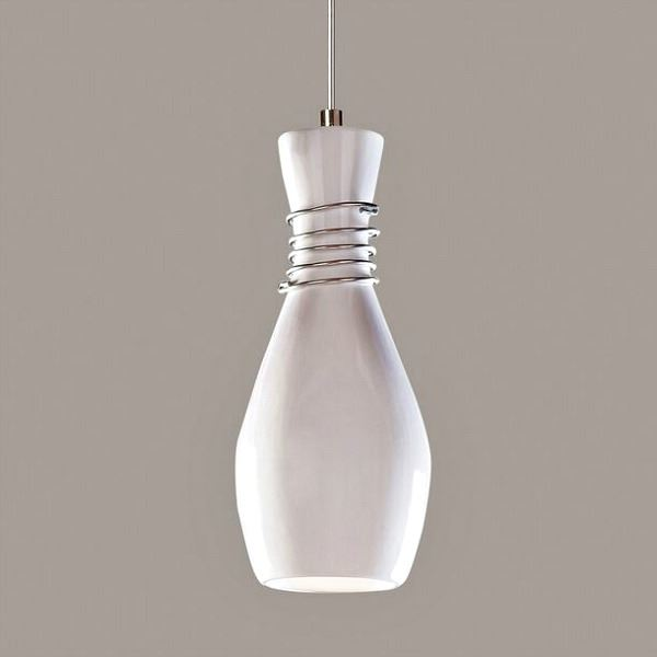Picture of A19 Ceramic Pendant Light | Amphora