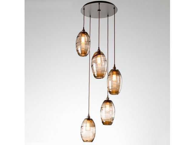 Picture of Pendant Chandelier | Ellisse 5