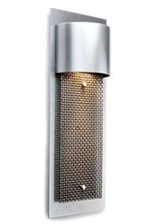 Picture of Short Mesh Panel Outdoor Cover Sconce