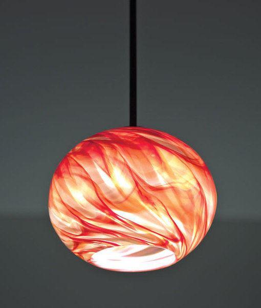 Picture of Pendant Light   Rose Globe
