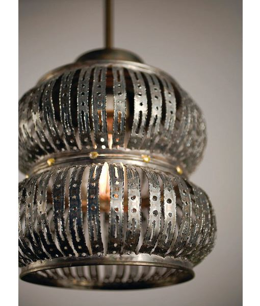 Picture of Secola Recycled Metal Pendant Light