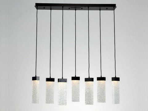 Linear Chandelier | Parallel Collection | 7