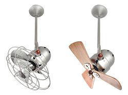 Bianca Ceiling Fan in Brushed Nickel