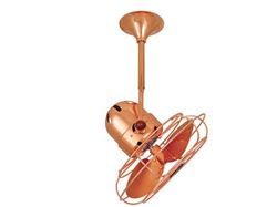 Bianca Ceiling Fan in Polished Copper