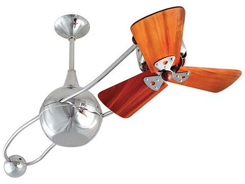 Brisa 2000 Ceiling Fan in Polished Chrome
