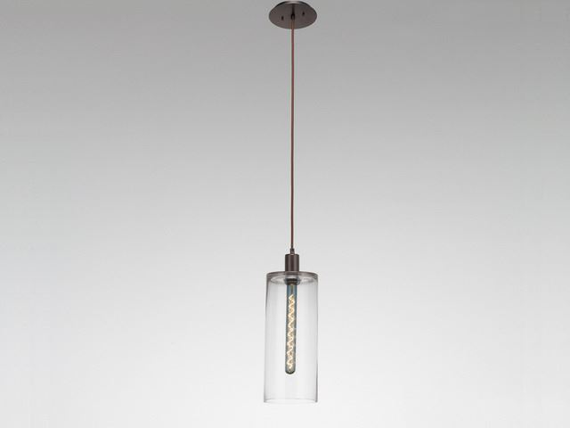 Picture of Blown Glass Pendant Light | Apothecary