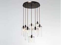 Picture of Pendant Chandelier | Apothecary 8
