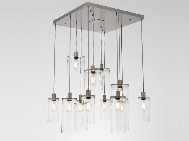 Picture of Pendant Chandelier | Apothecary 9