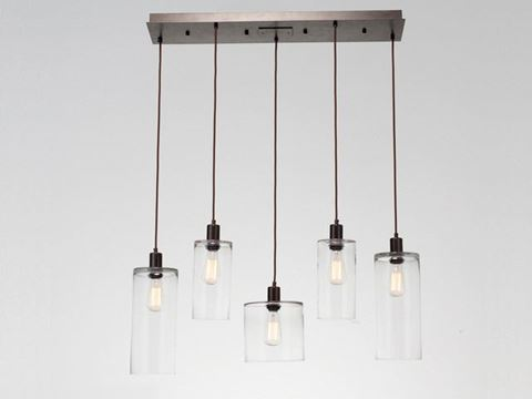 Linear Chandelier | Apothecary