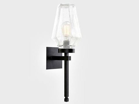 Outdoor Villa Torch Sconce