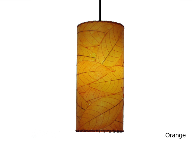 Picture of Pendant Light   Cocoa Leaf   Cylinder